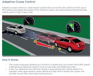 Ford Adaptive Cruise Control