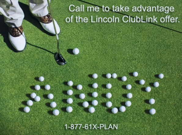 Lincoln ClubLink Offer
