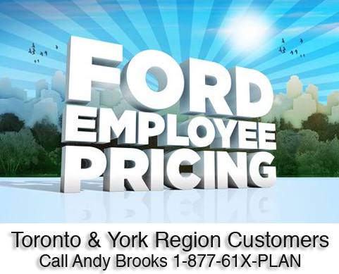 ford canada employee pricing 2012