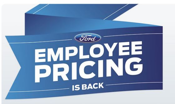 Ford Employee Pricing call 1-800-465-0411